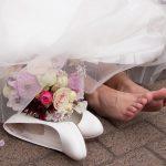 Voeten bruid BeautyFeet